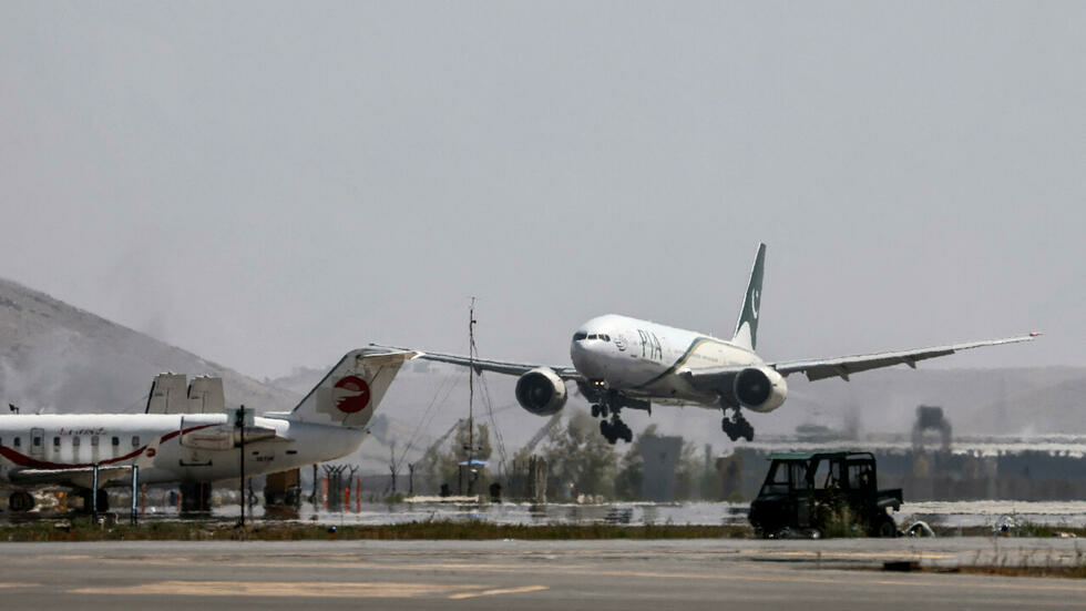 Pakistani plane terrains in Kabul in first business trip since Taliban takeover