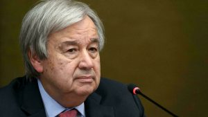 World on 'catastrophic' path to 2.7C warming, warns UN chief
