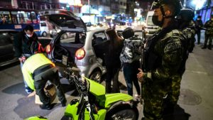 Soldiers deployed in Bogota in response to crime wave