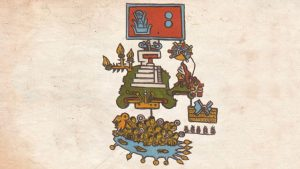 This pictogram is one of the most established known records of tremors in the Americas