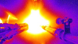With an incredible laser impact, researchers almost an atomic combination achievement